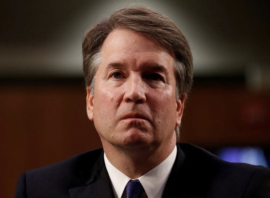 I HAD A VISION AND SAW MR. BRETT KAVANAUGH CRYING PSALM 56:4!